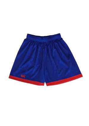 Newlands College PE Short Royal/Scarlet